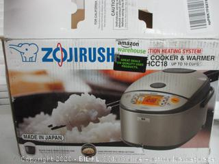 Zojirushi NP-HCC18 Induction Heating System Rice Cooker and Warmer (Retail $350)