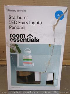 Room Essentials Starburst LED Fairy Lights Pendant