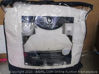 Pacific Coast European White Duck Down Comforter
