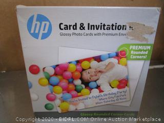 HP Glossy Photo Cards