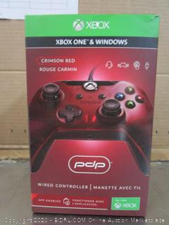 Xbox One & Windows Controller Crimson Red Wired