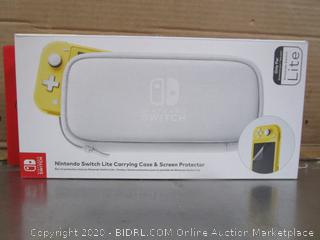 Nitendo Switch Lite Carrying Case & Screen Protector