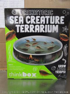 Prehistoric Sea Creature Terrarium
