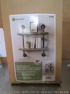 Whalen Industrial Pipe Shelf