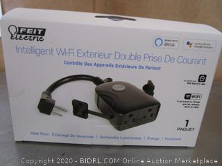 Feit Electric Smart Wi-Fi Dual Outlet Outdoor Plug