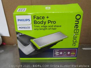 Philips OneBlade Face Body Pro