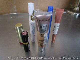 Misc. Lot Makeup: Lipstick, Maybelline, Pacificia