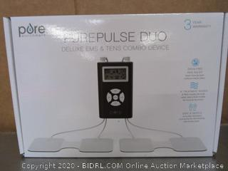 Pure PurePulse Duo Deluxe EMS TENS Combo Device