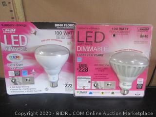 Feit LED Dimmable BR40 Flood Light