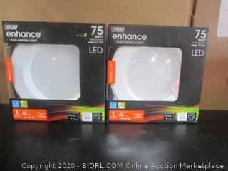 "Feit Electric LED Dimmable Enhance 925-Lumen Retrofit 5"" 6"" Kits"