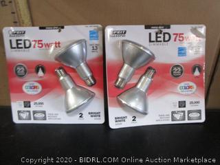 Feit LED PAR30 Spot Track & Recessed Light Bulbs 13W/75W Replacement