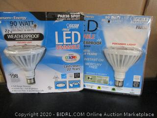 Feit Electric LED Dimmable PAR38 Spot 18W/90W Replacement Bulbs