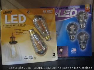 Feit LED Light Bulbs Lights of America