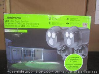 Mr. Beams LED Ultra Bright Motion-Sensory Security Light (retail $59.99)
