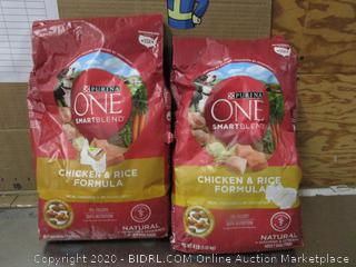 Purina One Smartblend Chicken & Rice Dog Food Kibble