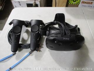 HTC- Vive - Virtual Reality System