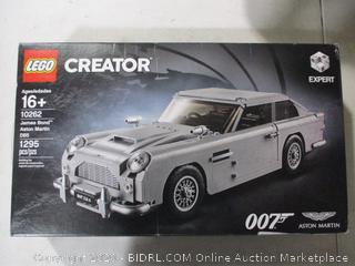 Lego- 10262- Creator Expert- James Bond Aston Martin DB5- Factory Sealed