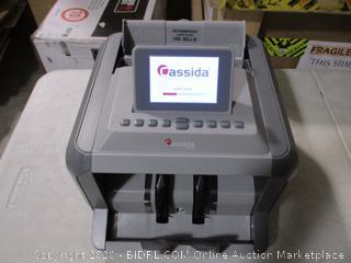 Cassida- 7750R- Business Grade Bill Counter & Reader w/ Counterfeit Detector ( Retails $962)