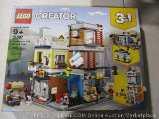 Lego- 31097- Creator- Townhouse Pet Shop & Cafe- Factory Sealed