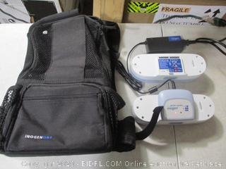 Inogen G3 Backpack for Portable Oxygen Generator with Battery Charger and 2 G3 Batteries