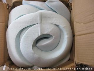 "Linenspa - 2"" Gel Memory Foam Mattress Topper (Queen)"
