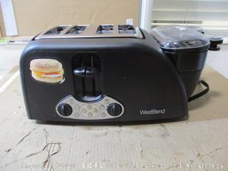 West Bend - Egg and Muffin Toaster