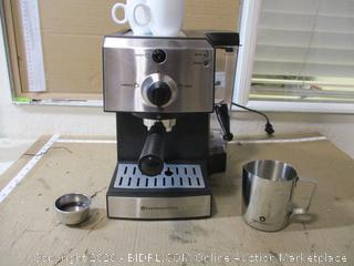 EspressoWorks - All-In-One Epresso Machine Set, 2 Espresso Cups Included ($219 Retail)