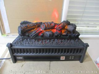 Turbro - Electric Log Set With Remote (See Pictures)
