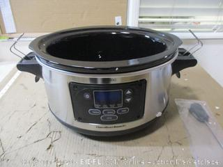 Hamilton Beach - Portable Slow Cooker, 6 Qt (Pot Only, See Pictures)