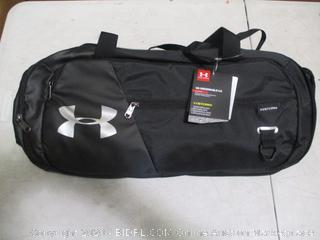 Under Armour Unisex Undeniable Duffle 4.0 Gym Bag, Black/Silver, Small