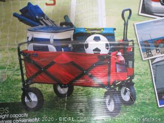 Mac Sports - MacWagon Folding Utility Wagon (Red) damaged, see pictures