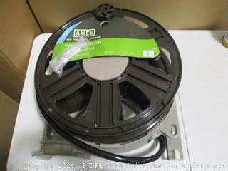 Ames - Wall Mount Hose Reel for 50-100ft Garden Hoses