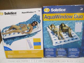 Solstice AquaWindow and AquaWindow Duo Pool Floats Set