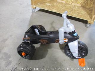 Fisher Price- Harley Davidson- Tough Trike (missing seat)