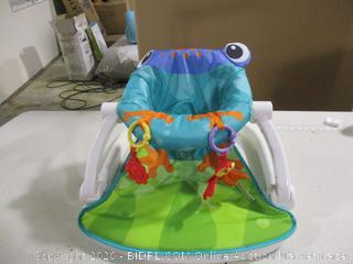 Fisher Price- Sit Me Up Floor Seat- Frog