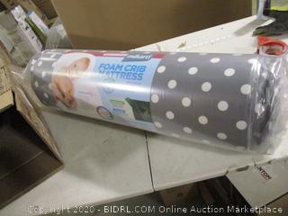 """Milliard- Foam Crib Mattress- 27.5"""" x  52"""" x 5"""" ( Sealed)"""