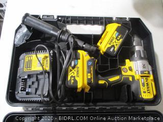DeWALT - 20V MAX XR Hammer Drill Kit with Bluetooth Batteries ($369 Retail) Powers On