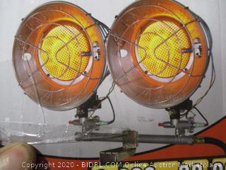872076018421Dyna-Glo - Radiant Tank-Top Propane Heater