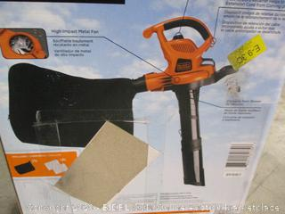 Black+Decker - 12A High Performance Blower/Vacuum/Mulcher