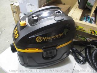 Vacmaster - Beast Series Wet/Dry Hobsite Vac, 5 Gallon, 5.5 HP