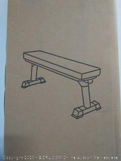 final form foldable utility flat bench