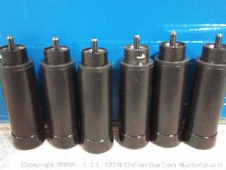 LUCID L300 Bed Base 5 Minute Assembly Adjustable, Legs, Black (online $49)