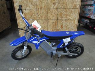 Hyper HPR 350 Dirt Bike 24-volt Electric Motorcycle (Retail $199)