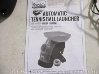 Franklin- Automatic Tennis Ball Launcher