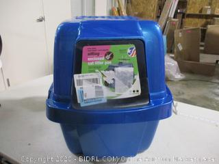 Vanness-Extra Giant Sifting Enclosed Cat Litter Pan