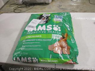Iams- Proactive Health- Minichunks-Adult Dog Food- 30 Pounds (Unopened)