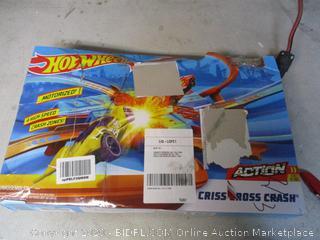 Hot Wheels Criss Cross Crash Track Set