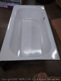 Briggs bath pendant porcelain finished steel bathtub