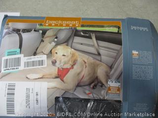 Back Seat Pet Bridge
