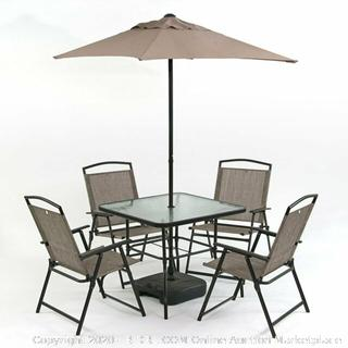 Trans Continental group Oasis 7-piece collection Patio Set (online $349)